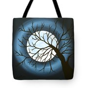The Sleeping Tote Bag by Angela Hansen