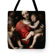 The Sleeping Christ Tote Bag