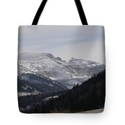 The Sleeping Indian Tote Bag