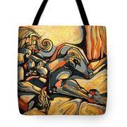 The Sleeping Muse Tote Bag