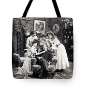The Sleepy Lover, 1902 Tote Bag