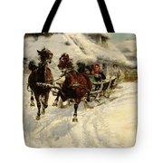 The Sleigh Ride Tote Bag by JFJ Vesin