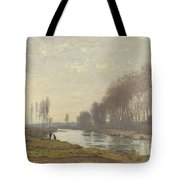The Small Branch Of The Seine At Argenteuil Tote Bag