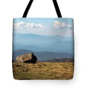The Smokies From Roan Mountain I Tote Bag