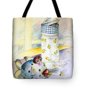 The Smoking Fish Tote Bag