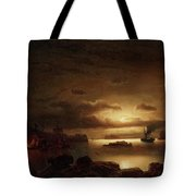 The Smugglers Harbor Tote Bag