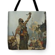 The Snake Charmer Tote Bag