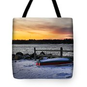 The Snow Boat Tote Bag