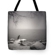 The Snow Gatherer Tote Bag