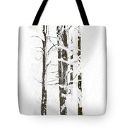 The Snow Just Won't Stop Tote Bag