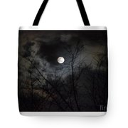 The Snow Moon Tote Bag