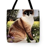 The Snowshoe Cat Tote Bag