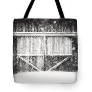 The Snowy Barn II Tote Bag