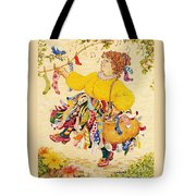 The Sock Lady Tote Bag