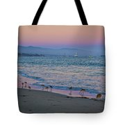 The Soft Side Of Sunset Tote Bag