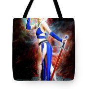 The Sorceress And The Sword Tote Bag