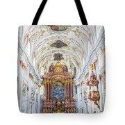 Lucerne's Jesuit Church  Tote Bag