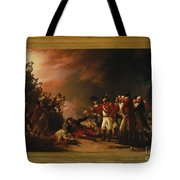 The Sortie Made By The Garrison Of Gibraltar Tote Bag