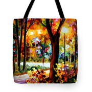 The Soul Of Night Tote Bag