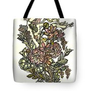 The Soul Of Wildflowers Tote Bag