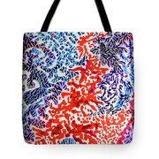 The Sound Of Fireworks Tote Bag