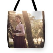 The Sound Of A Flower Tote Bag