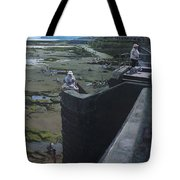 The South Bay In Scarborough. Tote Bag
