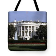The South Side Of The White House Tote Bag
