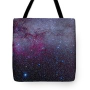 The Southern Milky Way Tote Bag