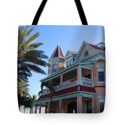 The Southernmost House In Key West Tote Bag
