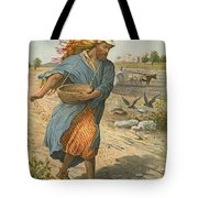 The Sower Sowing The Seed Tote Bag by English School