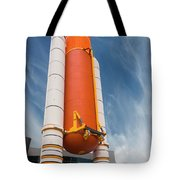 The Space Shuttle Launch System Tote Bag by Jim Thompson