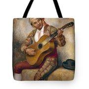The Spanish Guitarist Tote Bag