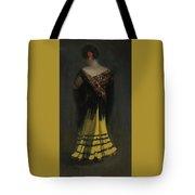 The Spanish Shawl - Portrait Of Jeanne Frankenberg Tote Bag