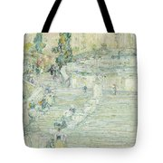 Marvelous The Spanish Stairs, Rome, 1897 Tote Bag