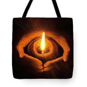The Spark Of Life Tote Bag by Anastasiya Malakhova