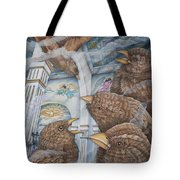 The Sparrows Of San Elizario Tote Bag