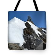 The Sphinx At Jungfrau Tote Bag
