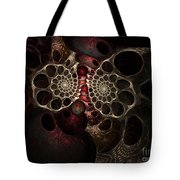 The Spiral Creature Tote Bag