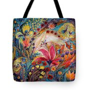 The Spiral Of Life Tote Bag