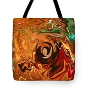 The Spirit Of Christmas - Abstract Art Tote Bag