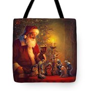 The Spirit Of Christmas Tote Bag by Greg Olsen