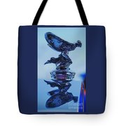 Reflecting On The Spirit Of Ecstasy  Tote Bag