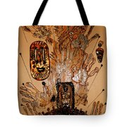 The Spirit Of Survival Tote Bag