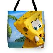 The Spongebob Movie Sponge Out Of Water Tote Bag