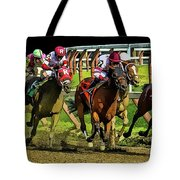The Sport Of Kings Tote Bag