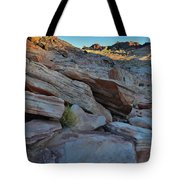The Spotlight Fades At Valley Of Fire Tote Bag