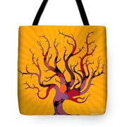 The Spotted Tree Tote Bag