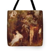 The Spring Of Love Tote Bag