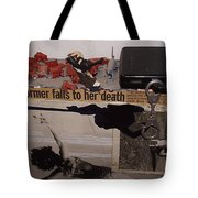 The Spy's Death Tote Bag
